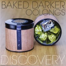 Baked Darker Oolong Tea Discovery Sampler Tin