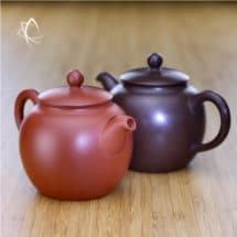 Bao Zhun Purple and Red Clay Teapots Feature View