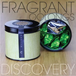 Fragrant Oolong Tea Discovery Sampler Tin