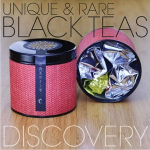 Unique & Rare Black Tea Discovery Sampler Tin
