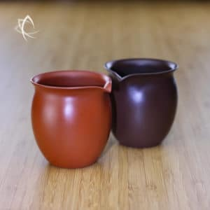 Small Elegant Purple and Red Clay Tea Pitchers Featured View